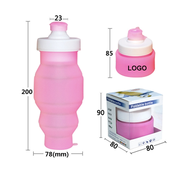 Sports Collapsible Bottle