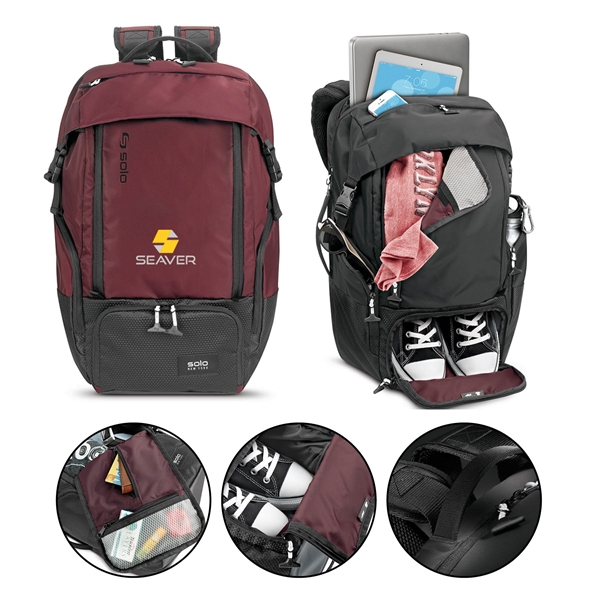 Solo® Elite Backpack
