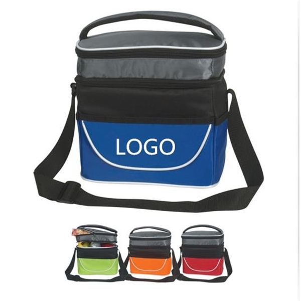 Double Compartment Lunch Bag