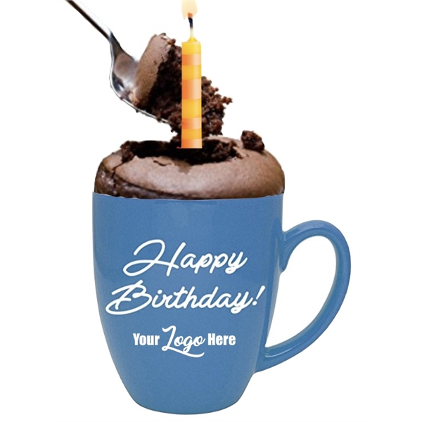 Happy Birthday Cake in a Mug Gift Set