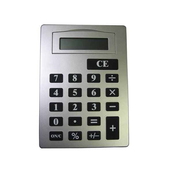 8 Digit Calculator With Pop Up LCD Panel