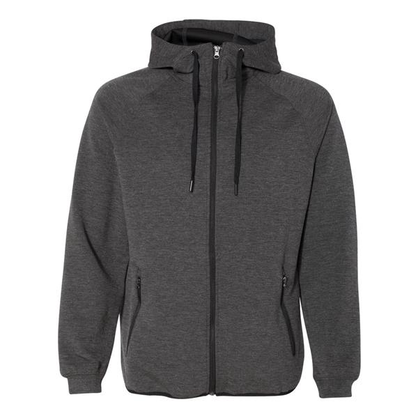 Weatherproof HeatLast™ Fleece Tech Full-Zip Hooded Sweats...