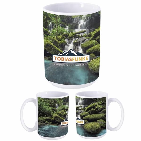 Dye Sublimation Mug - 15 oz.