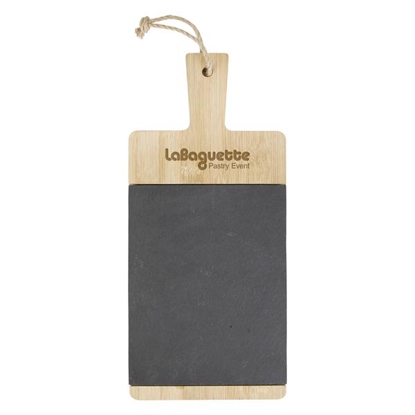 Bamboo & Slate Charcuterie Cutting Board