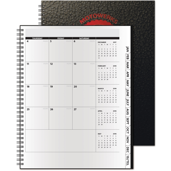 The Analyst Monthly Planner - Deluxe
