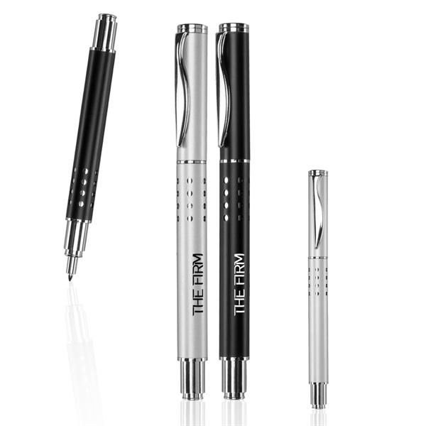 Swerve Clip Metal Rollerball Pen