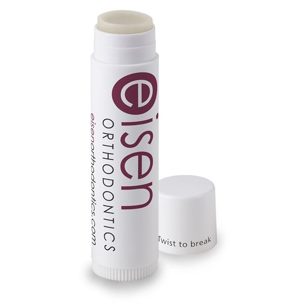 White Stick Coconut Oil Lip Balm, SPF-free