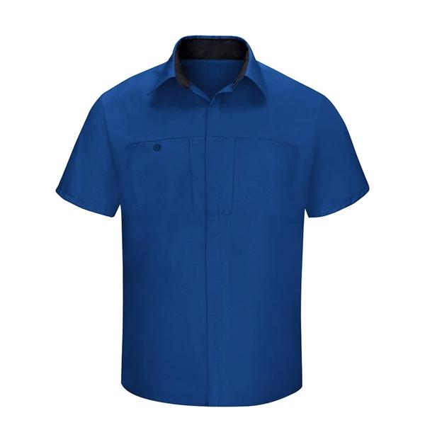 Red Kap Performance Plus Short Sleeve Shirt with Oilblok ...