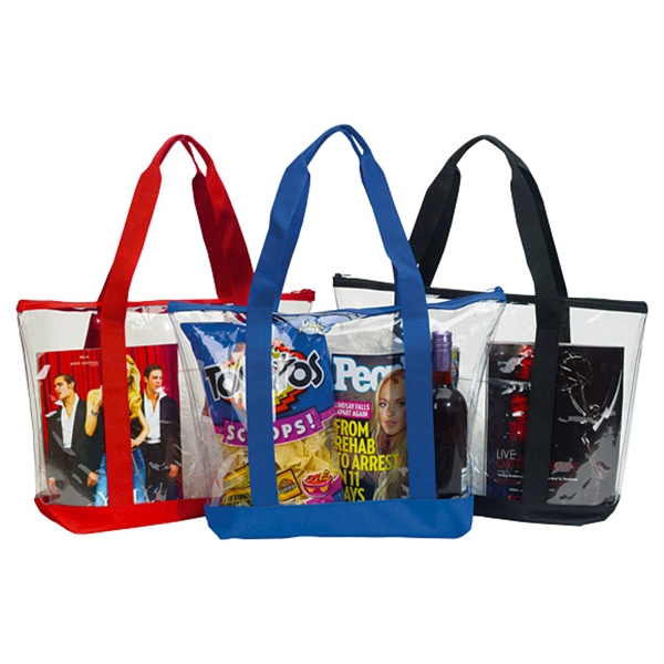 Clear Security Travel Tote