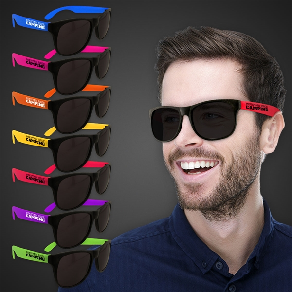 Neon Look Sunglasses