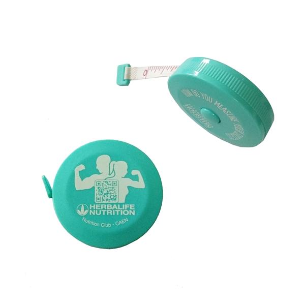 Retractable PVC Measuring Tape Dual Side Tailor Cloth Ruler