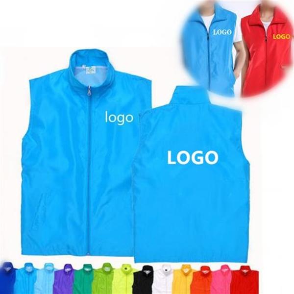 Customized Volunteer Advertising Functional Vest