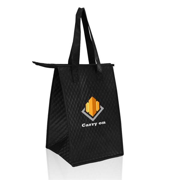 Zipper Insulated Lunch Tote Bags