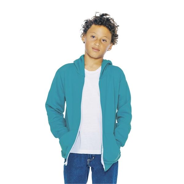 American Apparel Youth Flex Fleece Zip H