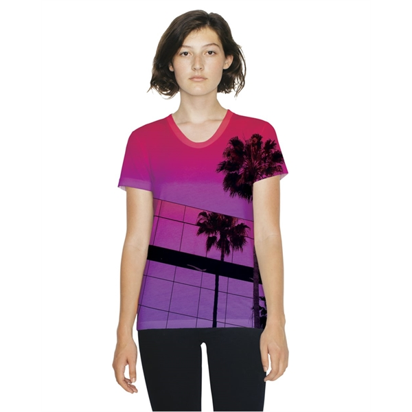 American Apparel Women's Sublimation Tee