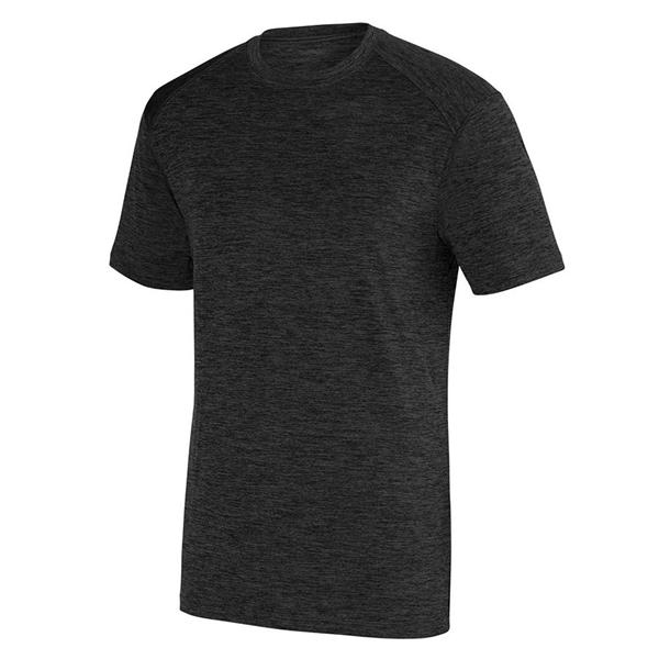 Augusta Sportswear Intensify Black Heather Training T-Shirt