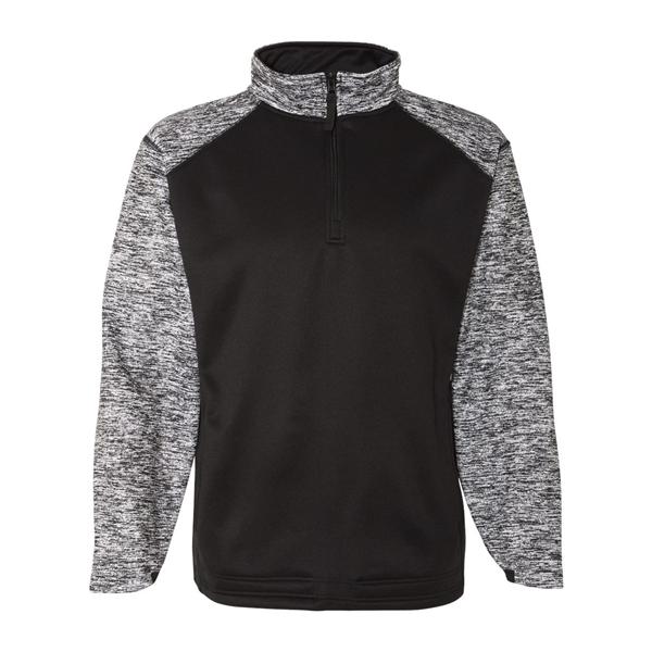 Badger Blend Sport Performance Fleece Quarter-Zip Pullover