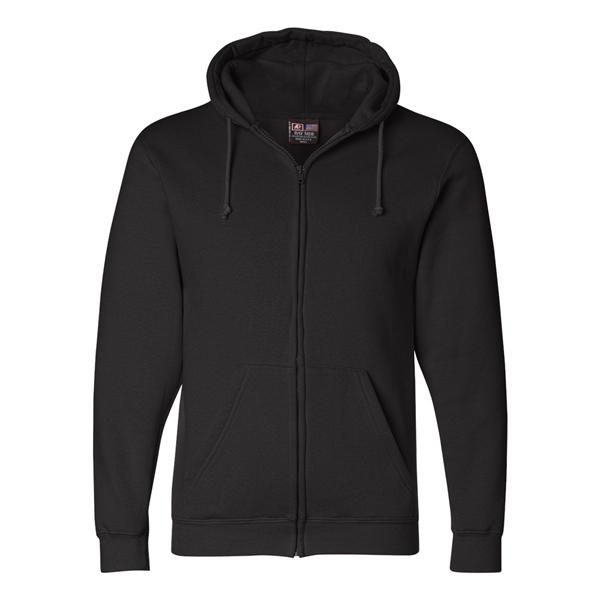 Bayside USA-Made Full-Zip Hooded Sweatsh