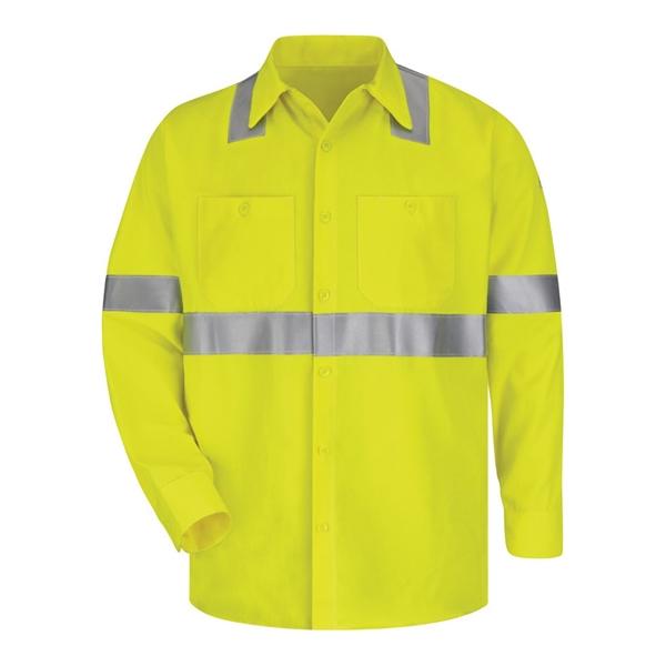 Bulwark High Visibility Long Sleeve Work Shirt