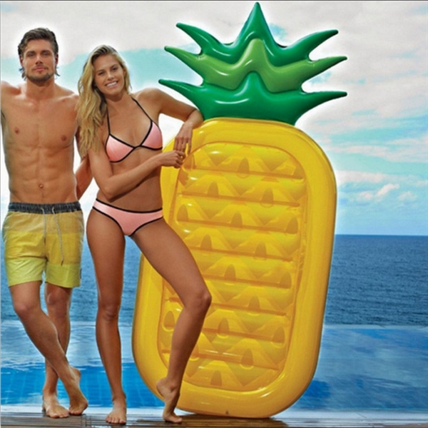Pineapple Inflatable Floating Row