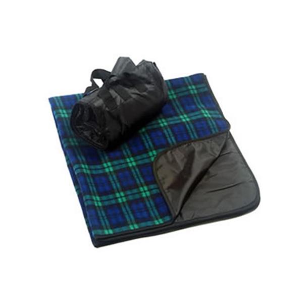 Alpine Fleece Polyester/Nylon Patterned Picnic Blanket