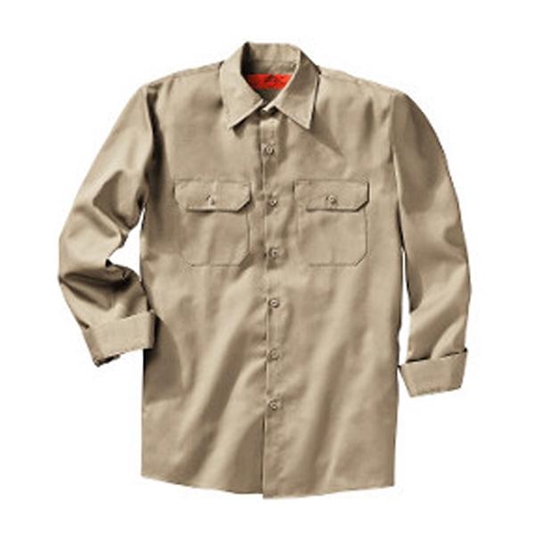 Red Kap Utility Long Sleeve Work Shirt Long Sizes