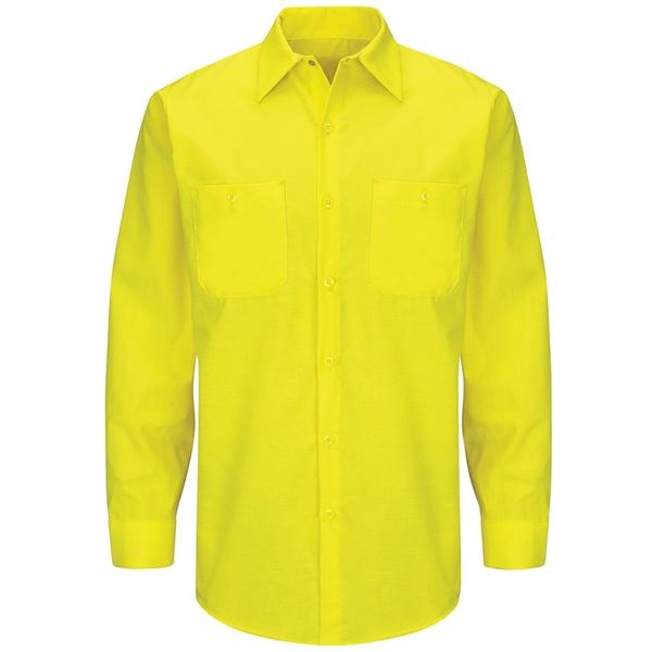 Red Kap Enhanced & Hi-Visibility Long Sleeve Work Shirt