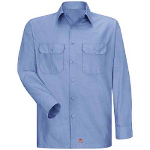 Red Kap Ripstop Long Sleeve Shirt - Long Sizes