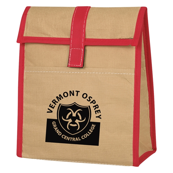 Woven Paper Lunch Bag
