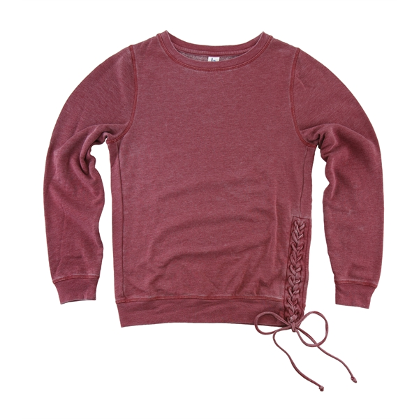 Rally Lace-Up Pullover