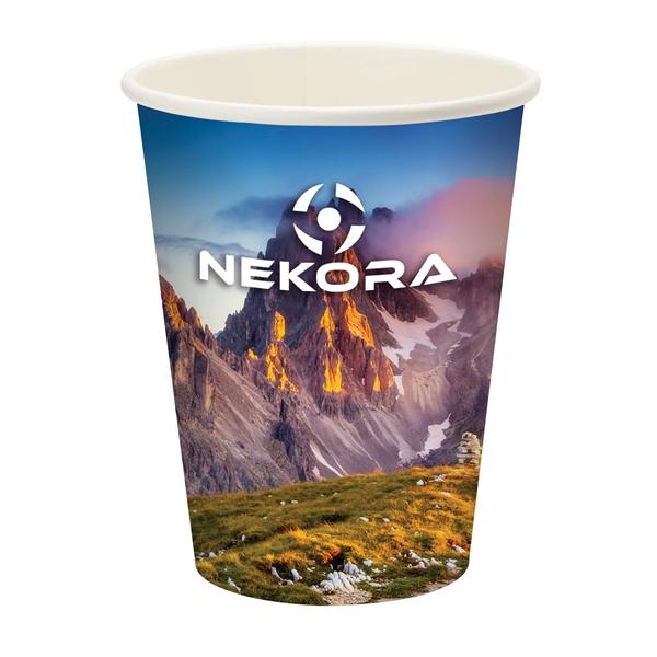 Përka® 12oz Single Wall Paper Drinking Cup