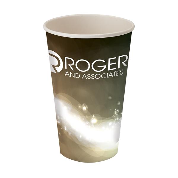 Përka® 16oz Single Wall Paper Drinking Cup