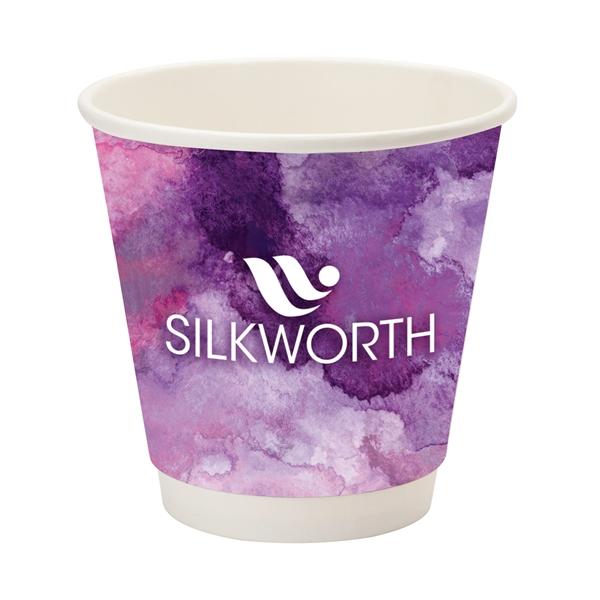 Përka® 10oz Double Wall Paper Coffee Cup