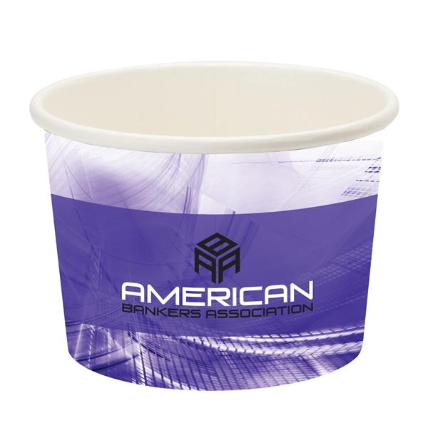 Përka® 16oz Snack/Ice Cream Paper Cup
