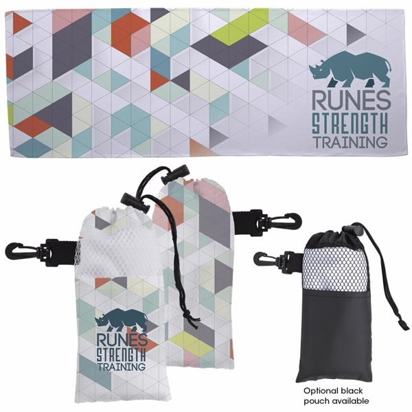 4 Color Cooling Towel in Pouch