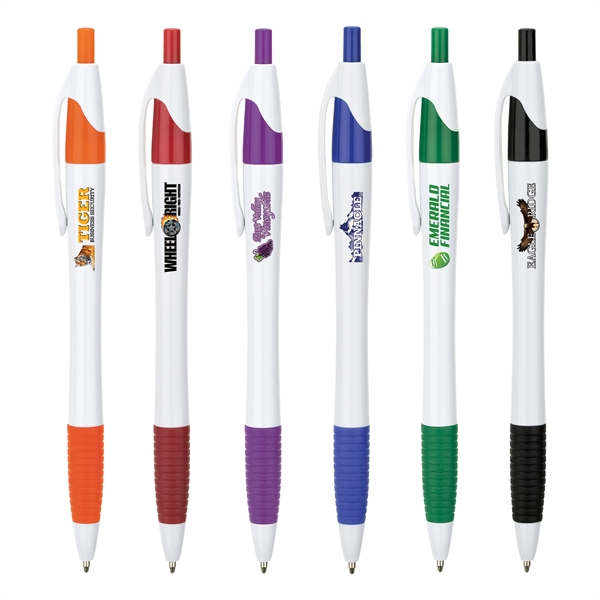 Hampton Ballpoint Pen w/Full Color Imprint