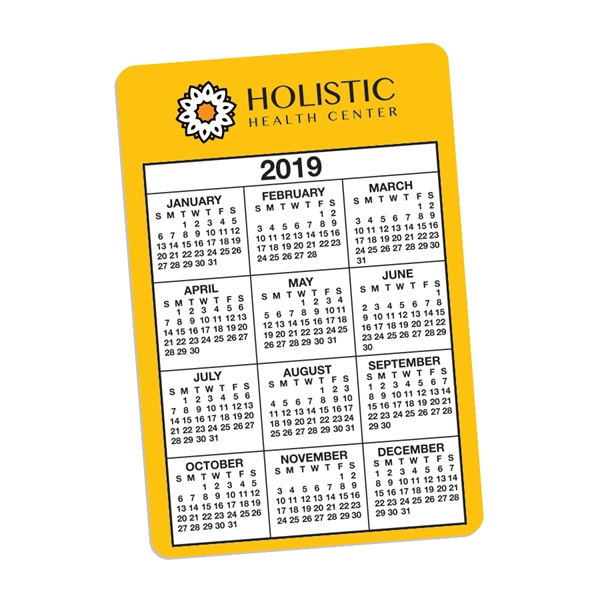 Small PVC Calendar