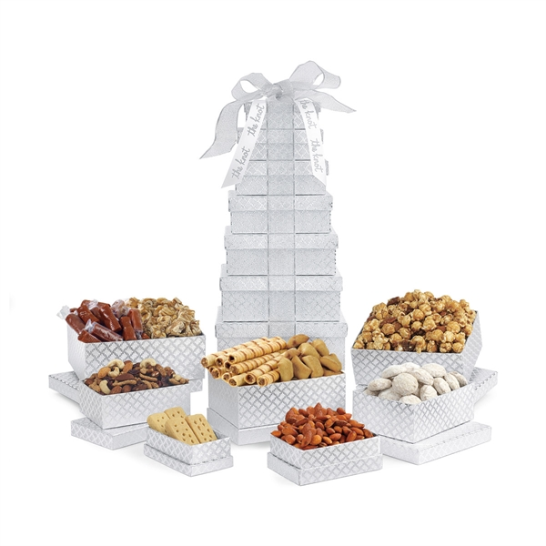 Sunsational Deluxe Shimmering Sweets and Snacks Tower