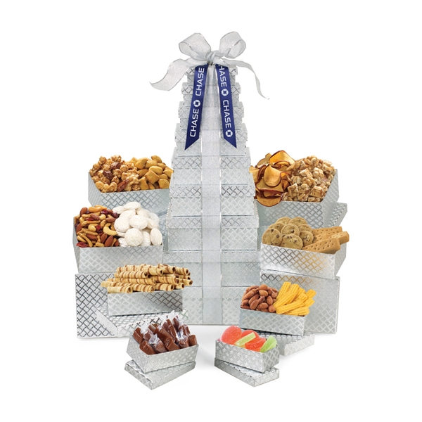 Sunsational Ultimate Shimmering Sweets Snacks Gourmet Tower