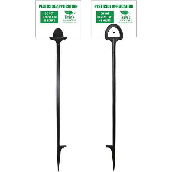 Value Marking Signs - One Color, Front &