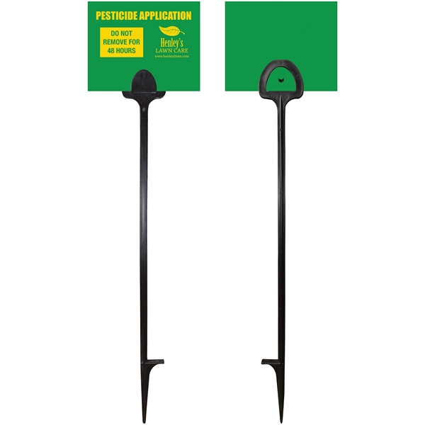 Value Marking Signs - Two Color Front &