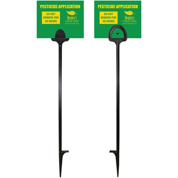 Value Marking Signs - Two Color, Front &