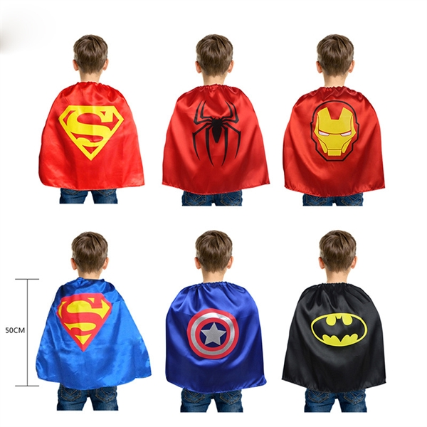 Skin-friendly Child superman Cape youth cape
