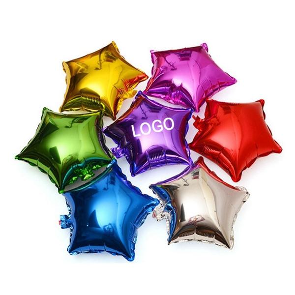 18'' Star Shape Mylar Balloon
