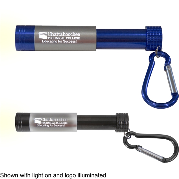 1 LED Light Up Slide Flashlight