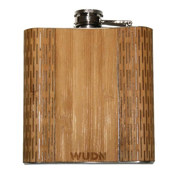 Wooden Hip Flask 6 oz.