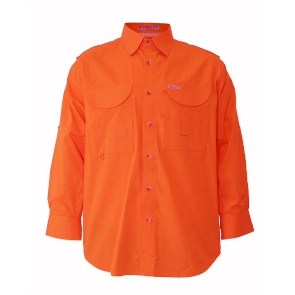 Blaze 100% Polyester Fishing Shirt Long sleeves