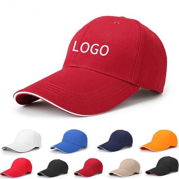 Flat Adjustable Structured for Max Comfort Cotton Cap