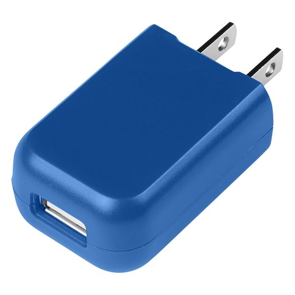 Rectangular UL Listed USB A/C Adapter