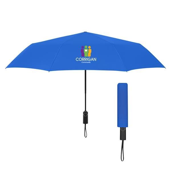 "46"" Arc Automatic Open And Close Folding Umbrella"